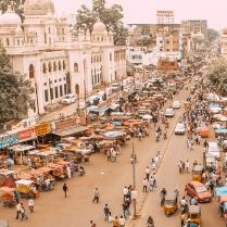 Typical Street in Mumbai